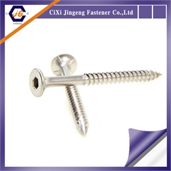 Stainless steel furniture assembly screw from Jingeng Fastener